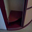 Шкаф-купе угловой, гнутый, радиус, радиусный